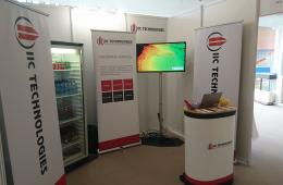 IIC Technologies stand at IHO assembly