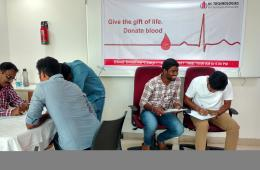 IIC Technologies Blood donation camp 2017