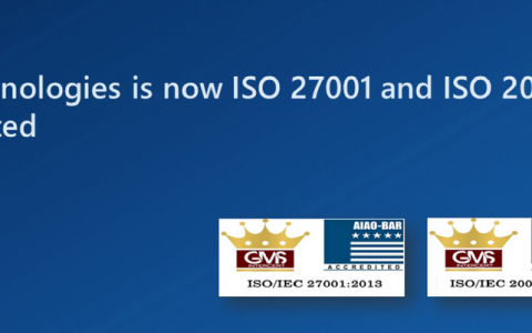 IIC Technologies is now ISO 27001 and ISO 20000-1 accredited