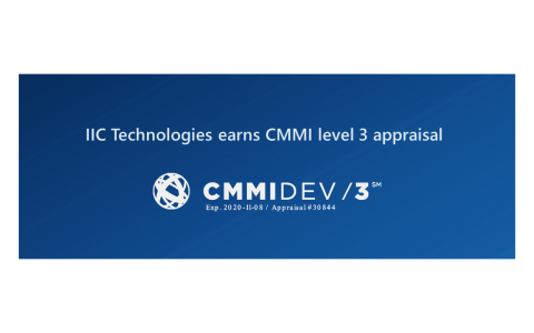 IIC Technologies earns CMMI level 3