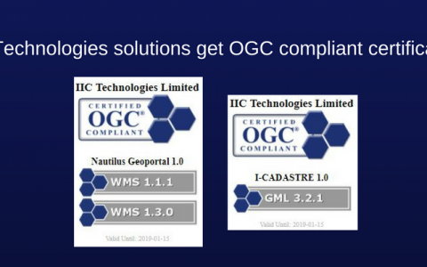 IIC Technologies solutions certified as OGC compliant